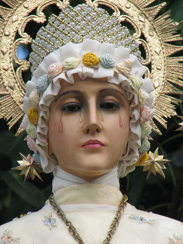 Fecioara Maria din La Salette sursa foto Wikipedia