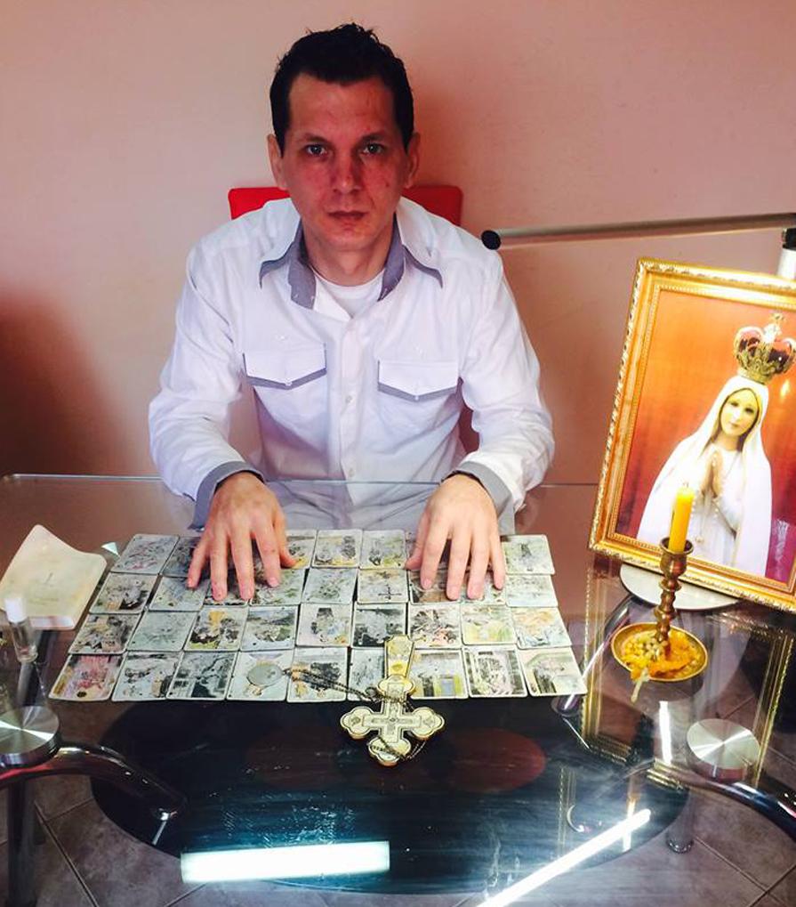 Mulţumiri pentru prezicător astrolog Gergely Eduard Rogere