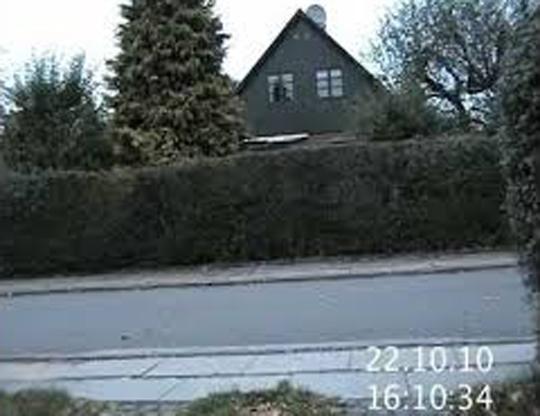 O cameră de supravegher din Danemarca a filmat o fantomă