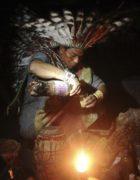 Mulţumiri pentru vraciul Yanoma din Amazonia