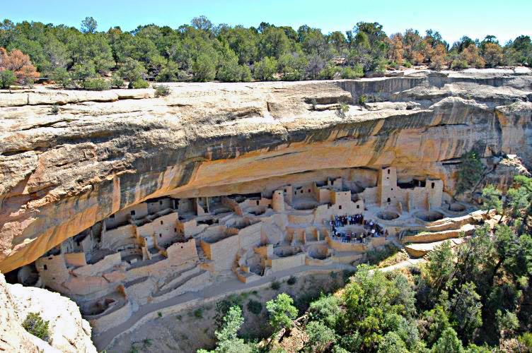 Cliff Palace, Mesa Verde, autor Lorax, sursa Wikipedia.