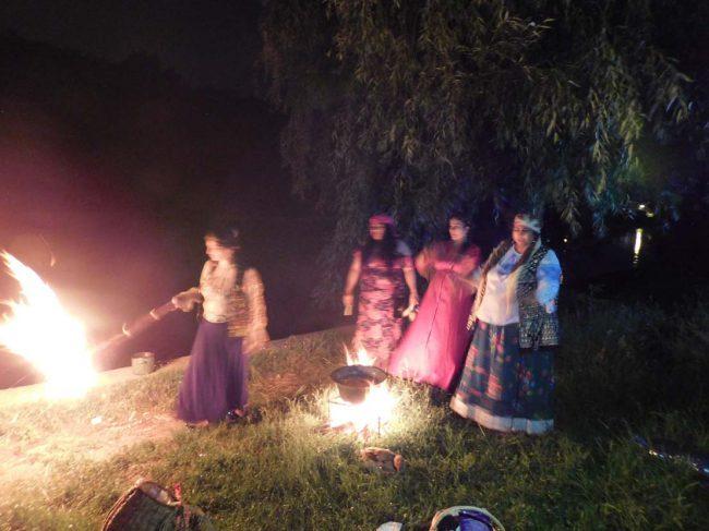 vrajitoarea Morgana la ritual de noapte 2