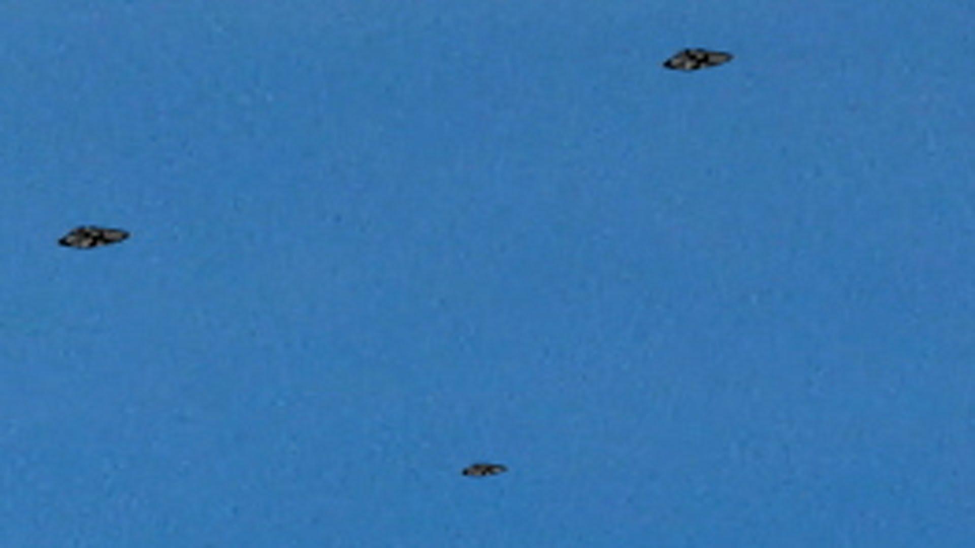 Observaţii aeriene insolite la Litchfield, Anglia