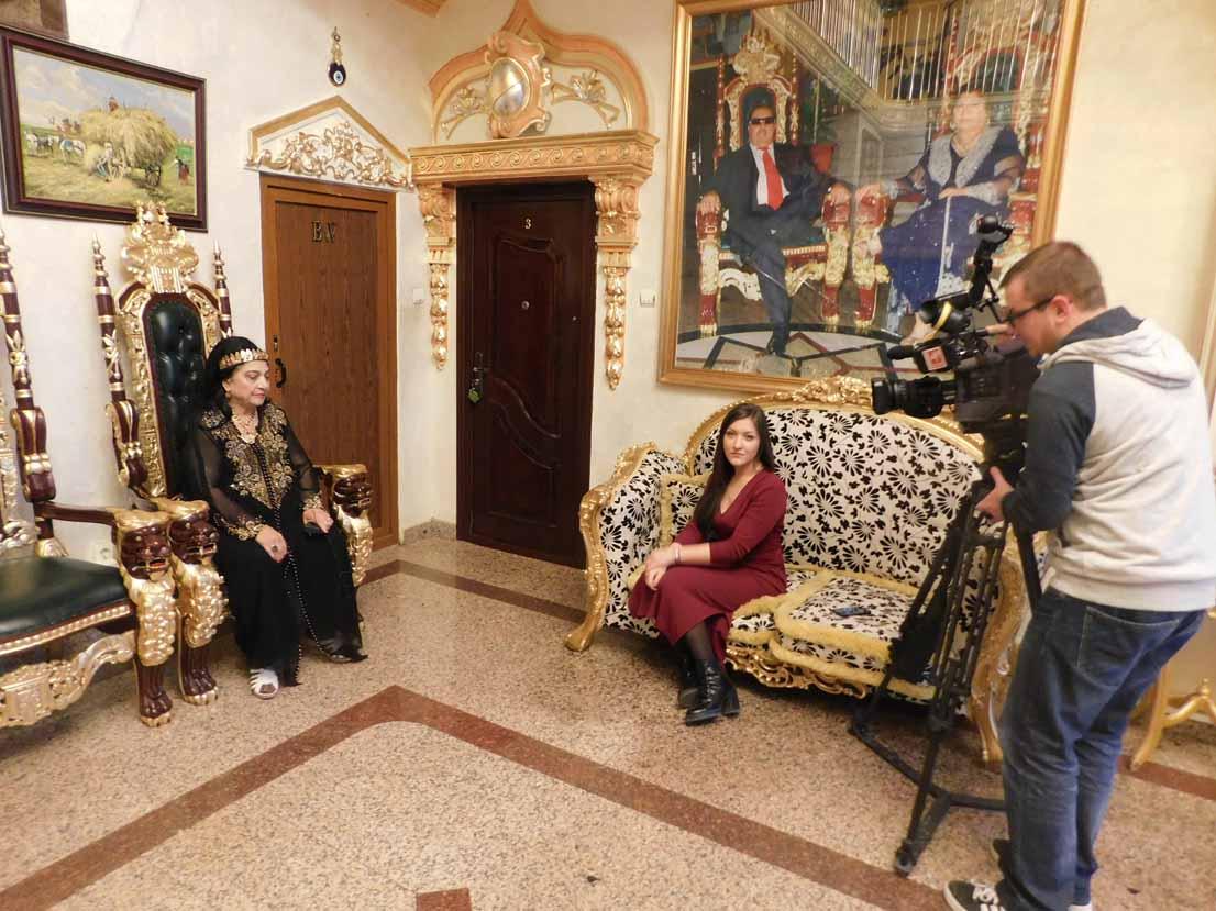 Regina magiei albe Maria Câmpina este cea mai iubită și promovată de televiziunile din întreaga lume