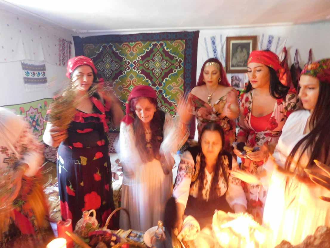 Vrăjitoarele din București au filmat pentru televiziunea din Moscova