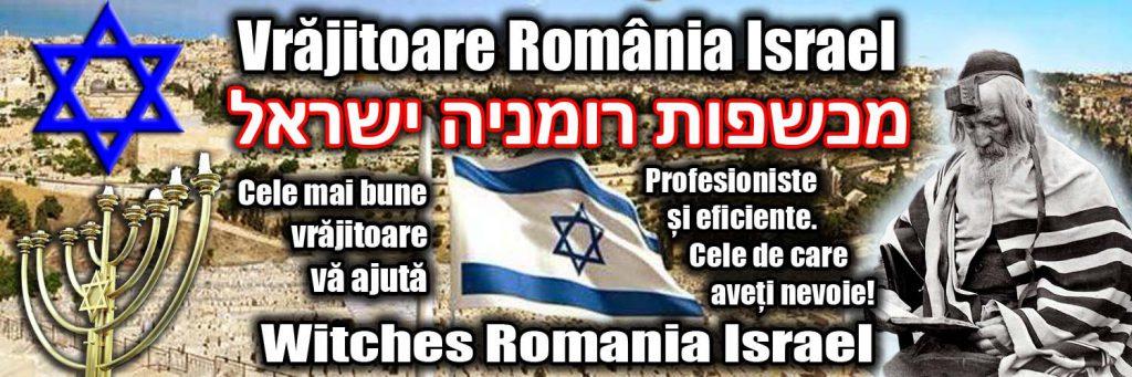 Banner Vrajitoare Romania Israel